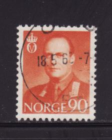 Norway 369 U King Olav V