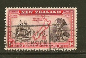 New Zealand 230 Captain Cook Used