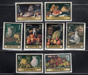Spain MNH 1999-2006 Paintings By Mendez 1996