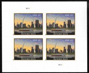 WCstamps: U.S. Scott #5157 / $190 - $23.75 Gateway Arch Pane Of 4