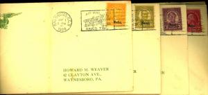 669-679 Used First Day Covers F-VF Cat $1,290