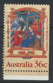 SG 1225  SC# 1159 Used  from booklet right (bottom) margin imperf  - Christmas