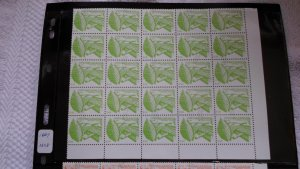 1983 NICARAGUA 2 PART SHEETS OF STAMPS. MNH. 50 STAMPS
