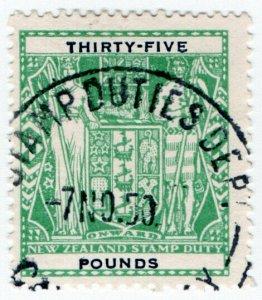 (I.B) New Zealand Revenue : Stamp Duty £35