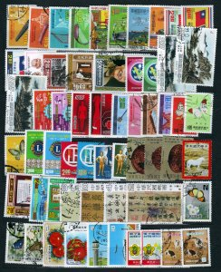 J23082 JLstamps ca1976-9 taiwan china used/mnh lot with some sets #