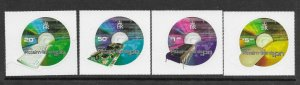Pitcairn Is  539 - 542  (SG 596/9) Computers - MNH - VF - CV$11.00