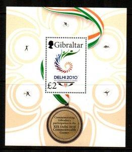 Gibraltar #1251  MNH  Scott $10.50   Souvenir Sheet