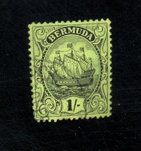 BERMUDA #93 USED F-VF Cat $62