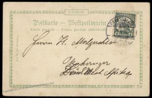 Germany East Africa Deutsche Ostafrika DOA 1910 Dar-es-Salaam 76061