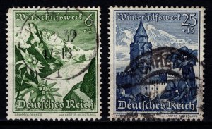 Germany 1938 Winter Relief, 6pf & 25pf [Used]