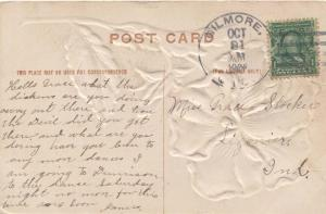 United States Ohio Gilmore 1908 4a-bar  1854-1950  PC  Bit reduced at right.