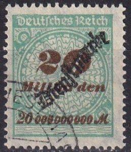 Germany #O45  F-VF Used CV $150.00  (Z5875)