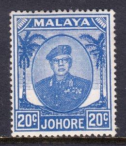 Malaya (Johore) - Scott #142 - MH - SCV $1.50