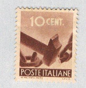 Italy Hammer brown 10c 1 (AP130215)