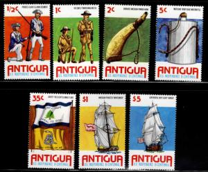 ANTIGUA Scott 423-429 MNH** 1976 US Independence set