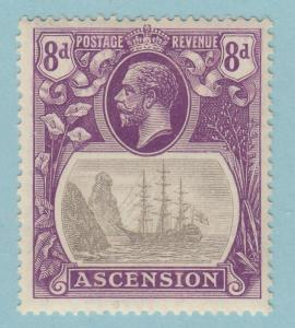 ASCENSION ISLAND 18  MINT HINGED OG * NO FAULTS  VERY FINE!