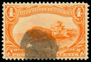 momen: US Stamps #287 Used XF