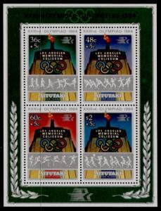 Aitutaki 346 MNH Summer Olympics, Sports, Athletics, Handball