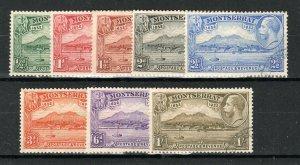 Montserrat 1932 Settlement values to 1s  FU CDS