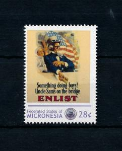 [78447] Micronesia  World War I Propaganda Poster  MNH