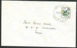 FIJI 1972 commercial cover to Tonga - NAUSORI cds..........................61743