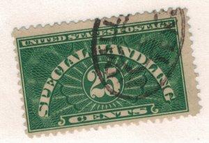 United States (U.S.) Stamp Scott #QE4, 25 Cent Special Handling, Used