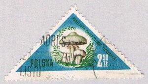 Poland 847 Used Mushrooms 250 1959 (BP41110)