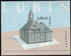 Poland #3834 Souvenir/Mini Sheet Imperf MNH- Polish Philatelic Assoc (2006)