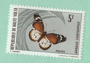 Burkina Faso #247  Butterfly   (MNH) CV $1.75