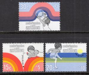 Netherlands Antilles B119-B121 MNH VF