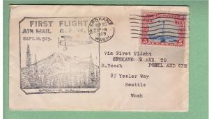 CAM - 32S7 - Spokane,WA-no b/s - 9/15/1929