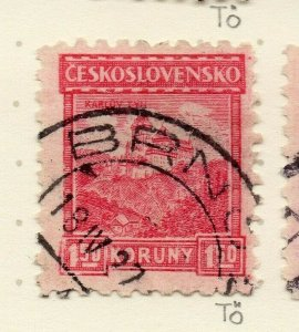Czechoslovakia 1926-27 Issue Fine Used 1.50k. NW-148605