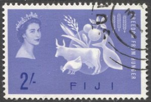 FIJI 1963, Sc 198 Used VF Freedom from Hunger issue