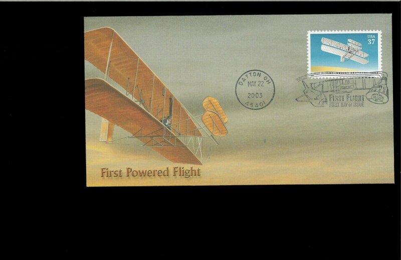 2003 FDC First Powered Flight Dayton OH