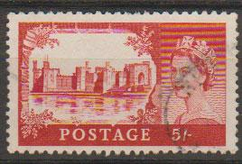 Great Britain SG 596a Used Bradbury Wilkinson printing