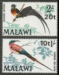 Malawi 136-137 Mint VF NH