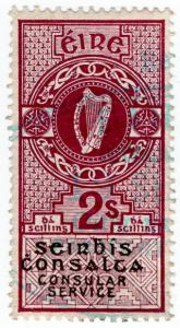 (I.B) Ireland Revenue : Consular Service 2/-