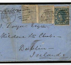 Australia States VICTORIA Melbourne Maritime Dublin *H&K PACKET* {samwells}W456
