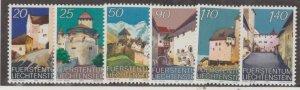 Liechtenstein Scott #832-841 Stamps - Mint NH Set