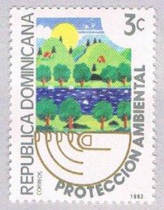 Dominican Republic Trees 3c - pickastamp (AP104015)