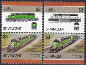 St Vincent #964  Error MNH CV $15.00   (Z1255)