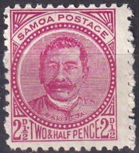 Samoa #14b   F-VF Unused  CV $4.25  (Z6933)