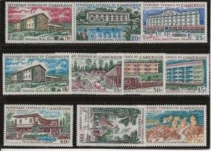 Cameroun 432-4, C63-C69 Set. MH