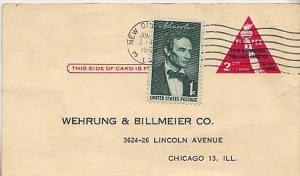United States, Government Postal Card, Stamp Collecting, Post 1950 Commemorat...