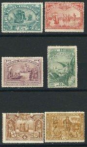 Portuguese India 189/96, MH F/VF 1898 SCV $13.50