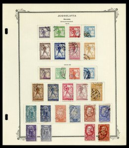 Yugoslavia Stamps Over 200+ Early Mint & Used from 1919 to 1920