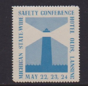 CINDERELLAS STAMPS ON MICHIGAN STATE SAFETY CONFERENCE   LOT#C-154