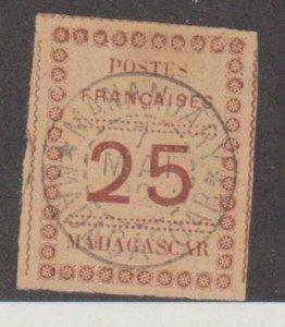 Madagascar - Malagasy Republic Scott #11 Stamp - Used Single