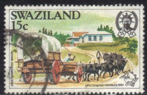 SWAZILAND SC# 450  USED  15c 1984    SEE SCAN