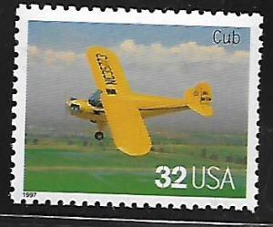 USA, 3142C, MNH, CLASSIC AMERICAN AIRCRAFT, CUB